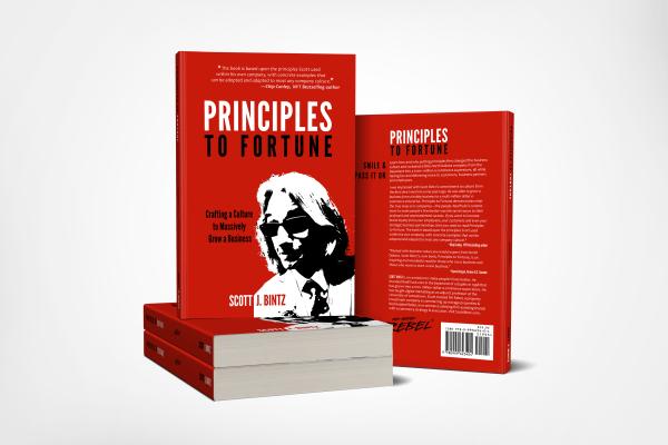 Principles To Fortune by Scott J. Bintz (Stack of Books)