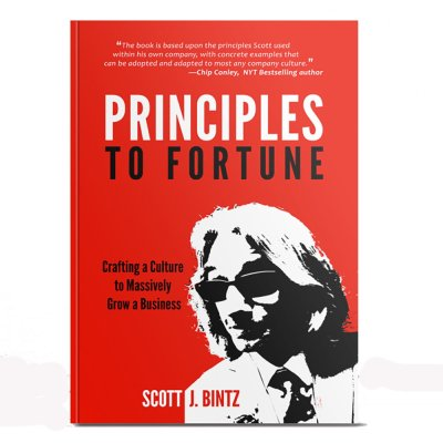 Principles To Fortune Book - Hard Cover Edition